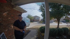 'Thank you for being kind:' Keller homeowner makes delivery driver's day with care basket