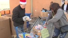 United Food Bank supplies hundreds of families in need with food for holidays