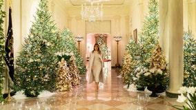 Melania Trump unveils 2019 White House Christmas decorations