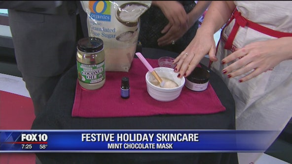 Festive holiday skincare