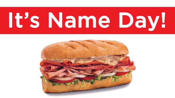 Firehouse Subs offering free sandwiches to anyone with these first names