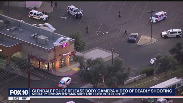 Glendale Police officials release video of officer-involved shooting that killed man
