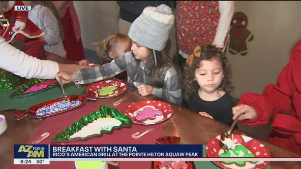 Cory's Corner: 'Breakfast with Santa' at Pointe Hilton Squaw Peak Resort