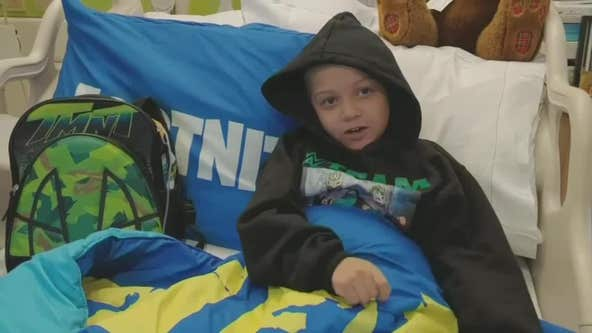 Boy waiting for heart transplant asking for Christmas cards