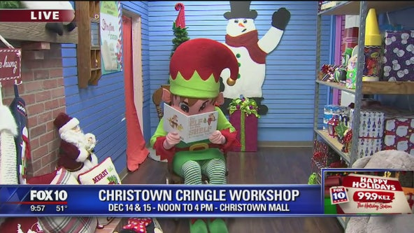 Cory's Corner: 'Christown Cringle Workshop'