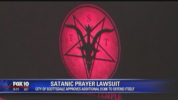City of Scottsdale approves additional funds for legal defense against Satanic Temple