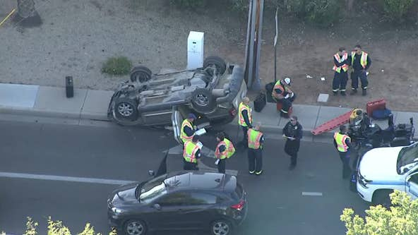Scottsdale Police: 3 vehicles involved in crash