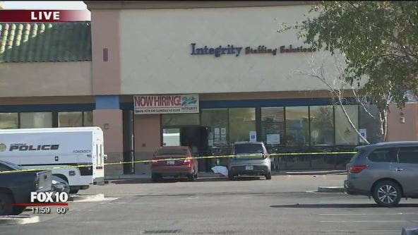 PD: Suspect sought following shooting at Glendale business