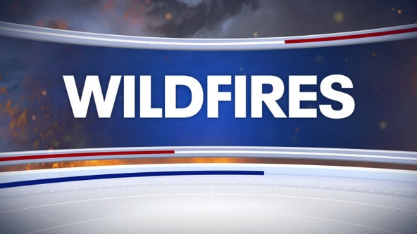 Firefighters responding to 20-acre wildfire on National Guard training range