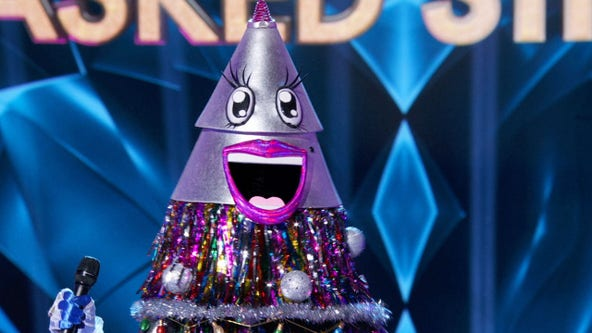 Tree catches sleigh ride home on FOX's 'The Masked Singer'