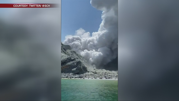 San Francisco tourist documents deadly volcano eruption