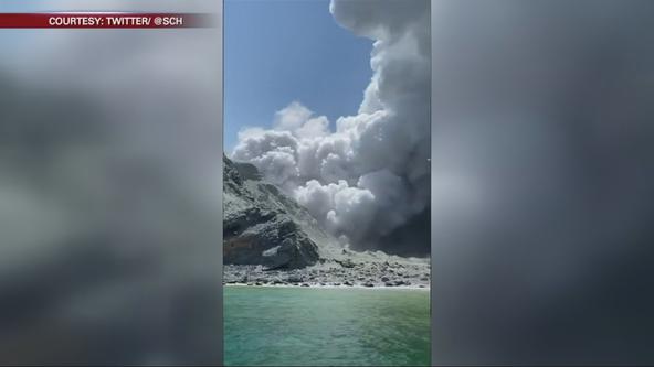 San Francisco tourist documents deadly volcano eruption