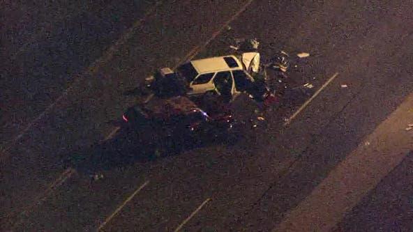 PD: Man killed after three-car crash in Phoenix, others injured