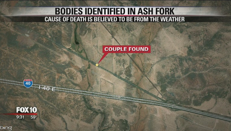 bodies identified in ash fork map