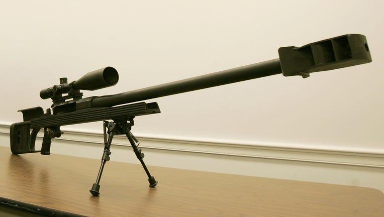 Barrett .50 caliber rifle file photo