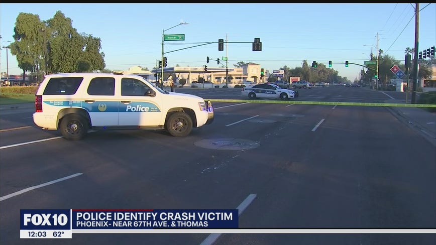 Woman dies after being hit by truck in west Phoenix