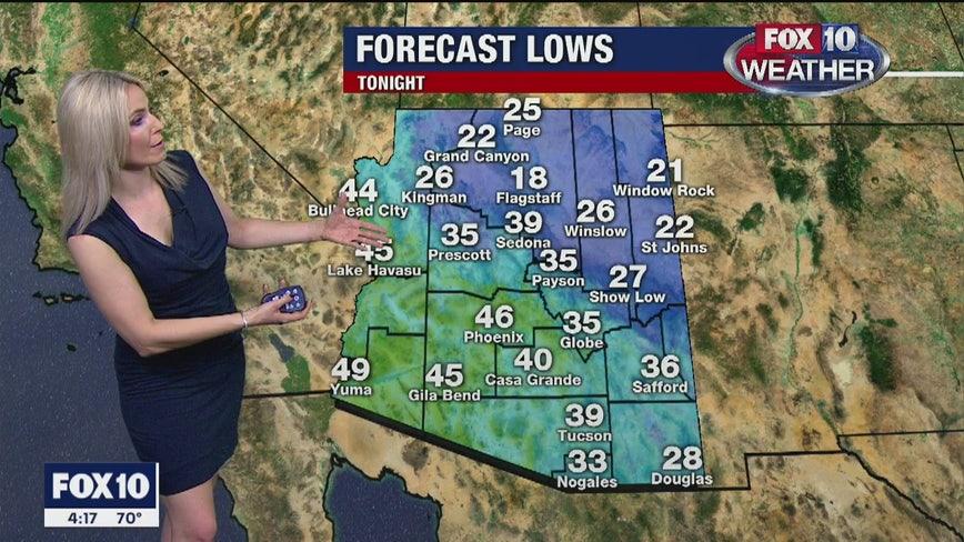 4 p.m. Weather Forecast 12-11-19