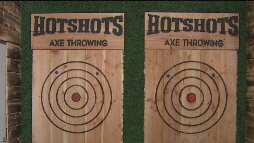 Hot Shots Axe Throwing comes to Tempe