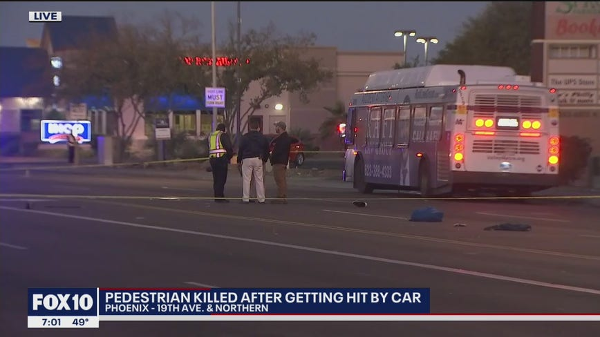 Police investigating fatal pedestrian crash in Phoenix