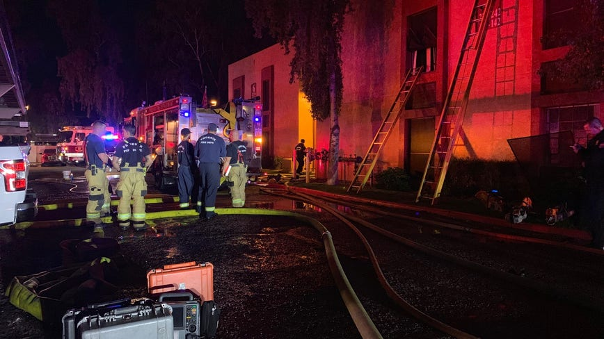 FD: 4-year-old girl dead, 3 injured after Phoenix apartment fire