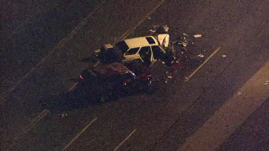 PD: Man killed after three-car crash in Phoenix, others injured
