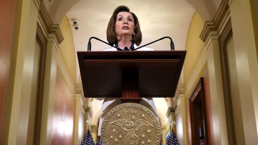 'No choice but to act': Pelosi OKs drafting of impeachment articles against Trump