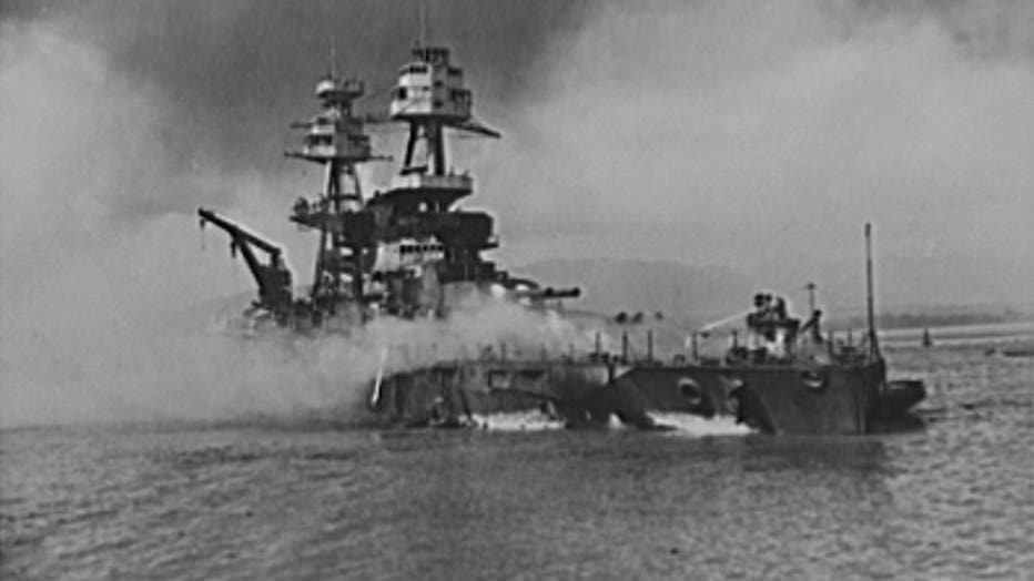 Pearl-Harbor-bombing.-USS-Nevada.-Beached-at-Hospital-Point__Office-of-War-Information-e1575611328767.jpg