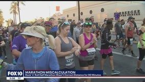 Officials blame map misinterpretation for shorter Rock n Roll Half Marathon