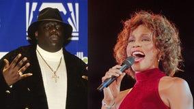 Whitney Houston, Notorious B.I.G. lead field into rock hall