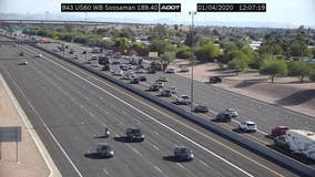 FD: 2 critical after crash on US-60 in Mesa
