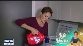 Life Hacks: Laundry detergent lids causing a mess? Not anymore