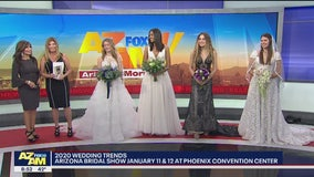 Wedding gown and flower trends for 2020