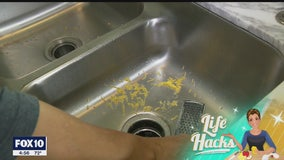 Life Hacks: How to get out of scrubbing cheese out of the sink