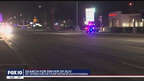 Police searching for suspect after man was found shot in car