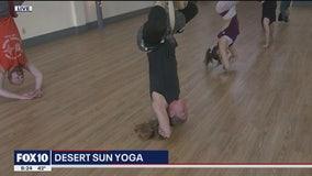 Cory's Corner: Desert Sun Yoga