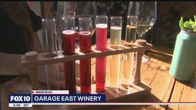Made In Arizona: Former firefighter now makes his own wine in the East Valley