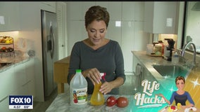 Life Hacks: DIY fruit spray