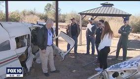 Students in Prescott training to become air crash investigators