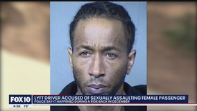 Lyft driver accused of sexually assaulting passenger