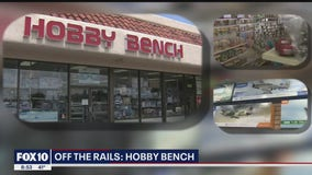 Off the Rails: Hobby Bench