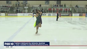 One of the cast members for new Cirque du Soleil show has ties to the Valley