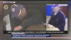 Police: Dye pack seen exploding with a 'pink poof' as bank robbery suspect fled from scene