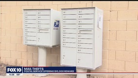 Reward offered for information on mail theft incident