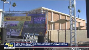 New ASU campus coming to downtown Mesa