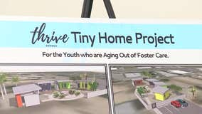 Tiny homes giving foster kids who have aged out of the system a fresh start