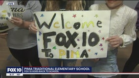 Cory's Corner: Back to school at Pima Traditional Elementary School