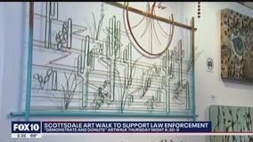 Scottsdale art walk supports law enforcement