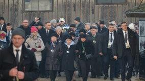 Auschwitz survivors warn of rising anti-Semitism 75 years on