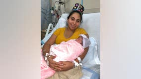 New Year's baby: Baby Zoé born on New Year's Day at Phoenix hospital