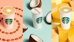 Starbucks adds new dairy-free drinks to permanent menu, tests oat milk